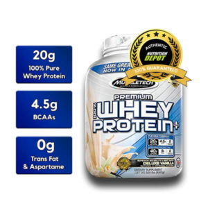 MUSCLETECH PREMIUM 100% WHEY PROTEIN PLUS, TRIPLE CHOCOLATE, 5 LBS 2