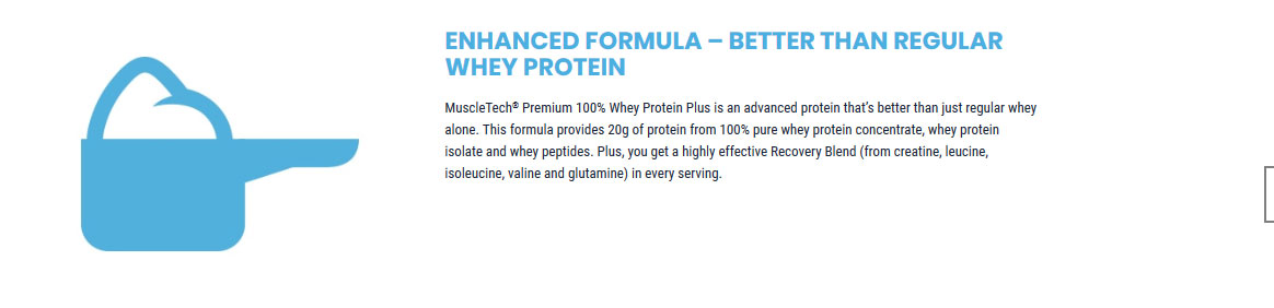MUSCLETECH PREMIUM 100% WHEY PROTEIN PLUS, TRIPLE CHOCOLATE, 5 LBS 4