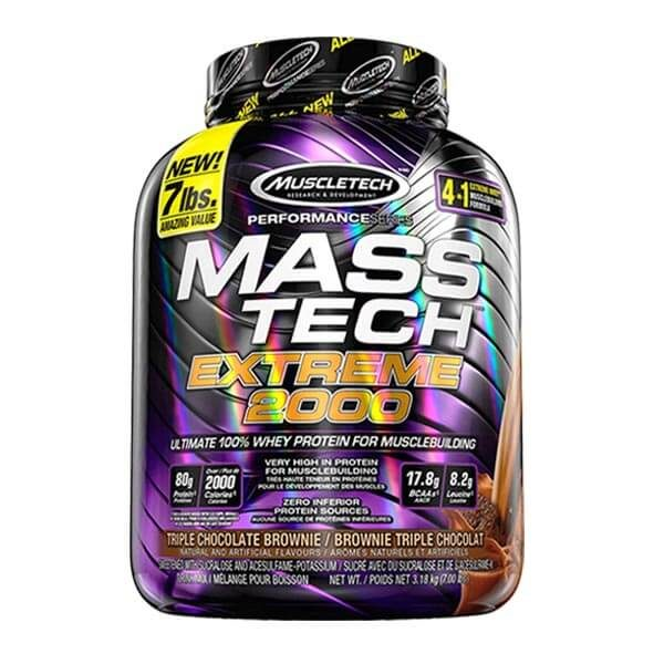 MUSCLETECH MASS TECH EXTREME 2000, 7 LBS
