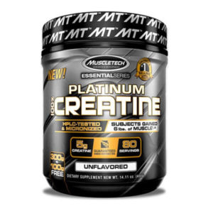 PLATINUM 100% CREATINE UNFLAVORED