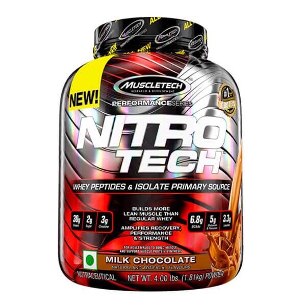 Nitrotech Milk Chocolate Products