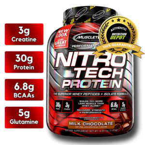 Nitro Tech Protein Milk Chocolate 4lbs