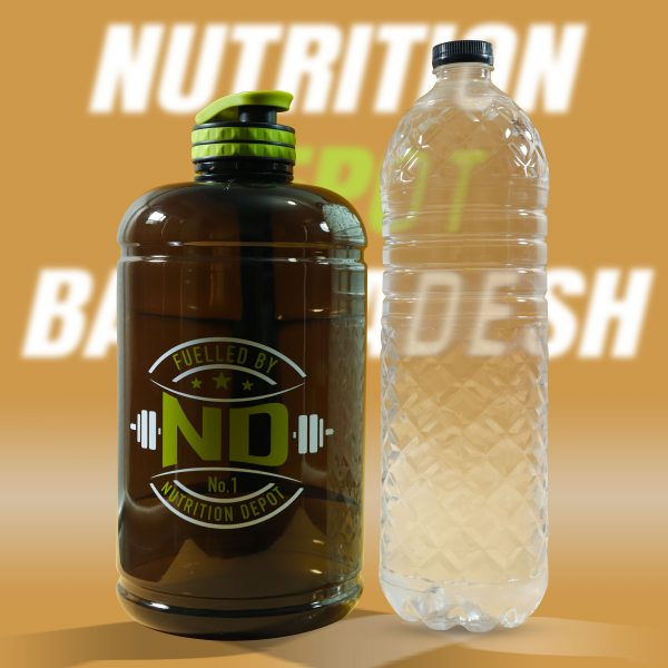 NUTRITION DEPOT WATER BOTTLE, 2.2 L 2