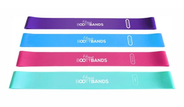 FITIQUE BOOTY BANDS, 4X IN ONE PACK 2