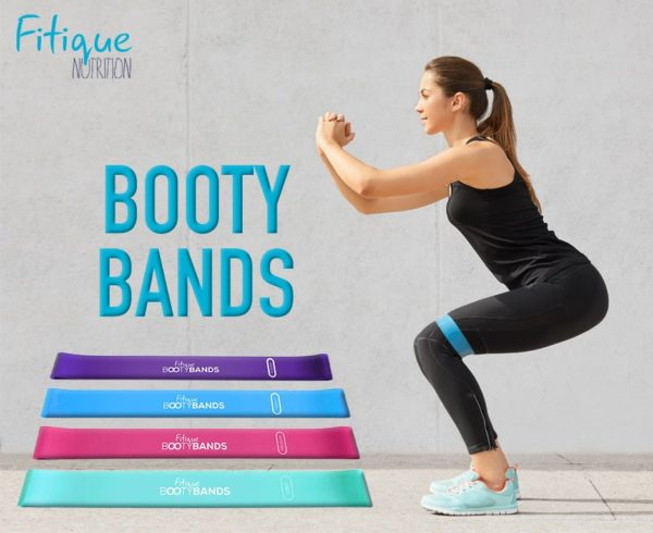 FITIQUE BOOTY BANDS, 4X IN ONE PACK 1