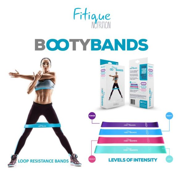 FITIQUE BOOTY BANDS, 4X IN ONE PACK 4