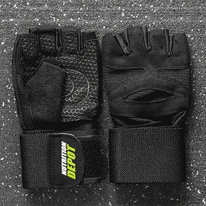 NUTRITION DEPOT GLOVES, MALE 6