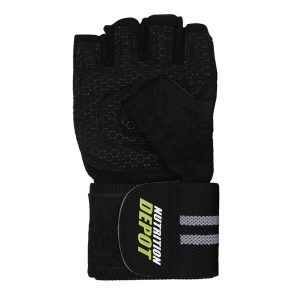 NUTRITION DEPOT GYM GLOVES, MALE