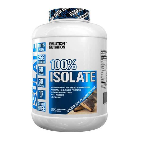 EVL 100% ISOLATE, CHOCOLATE PEANUT BUTTER, 4 LBS