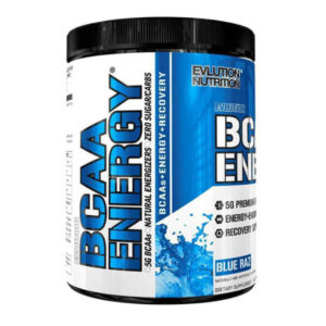 BCAA ENERGY - BLUE RAZ - 30 SERVING