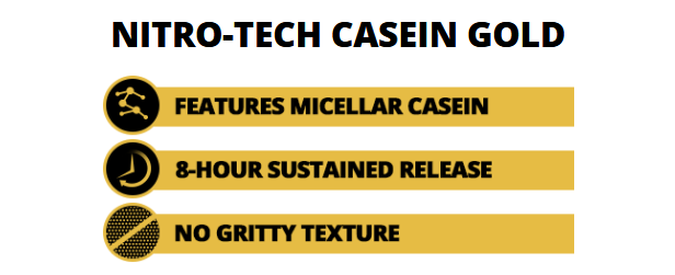 MUSCLETECH NITROTECH CASEIN GOLD, CHOCOLATE SUPREME, 2.5 LBS 2