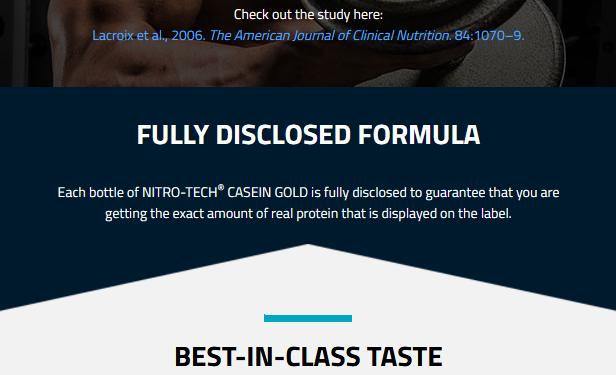 MUSCLETECH NITROTECH CASEIN GOLD, CHOCOLATE SUPREME, 5 LBS 4