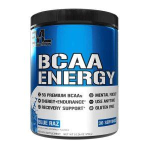 EVL BCAA ENERGY, BLUE RAZ, 30 SERVING