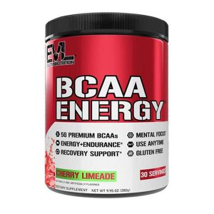 EVL BCAA ENERGY, CHERRY LIMEADE, 30 SERVING - 01