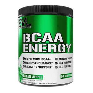 EVL BCAA ENERGY, GREEN APPLE, 30 SERVING p1
