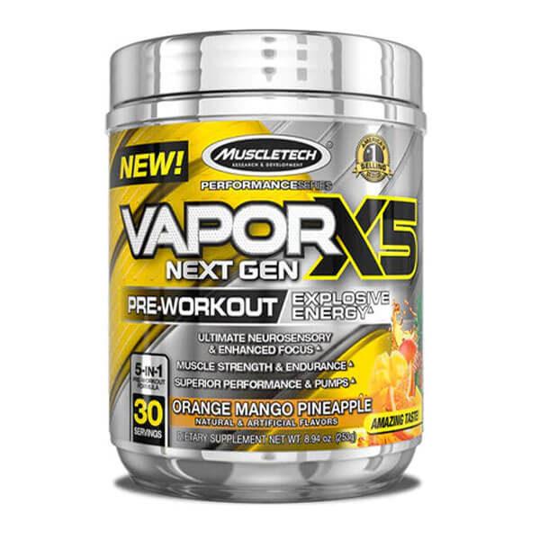 VAPOR X5 NEXT GEN - ORANGE MANGO PINEAPPLE