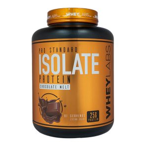 WHEY LABS, 100% ISOLATE PROTEIN, CHOCOLATE MELT, 5 LBS
