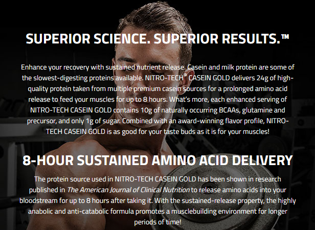 MUSCLETECH NITROTECH CASEIN GOLD, CHOCOLATE SUPREME, 5 LBS 3