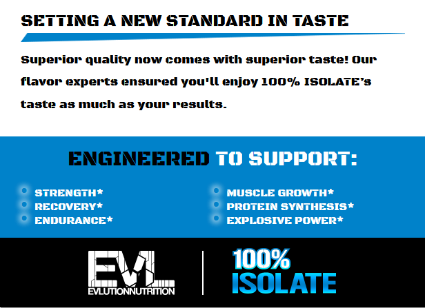 EVL 100% ISOLATE, CHOCOLATE PEANUT BUTTER, 2 LBS 4