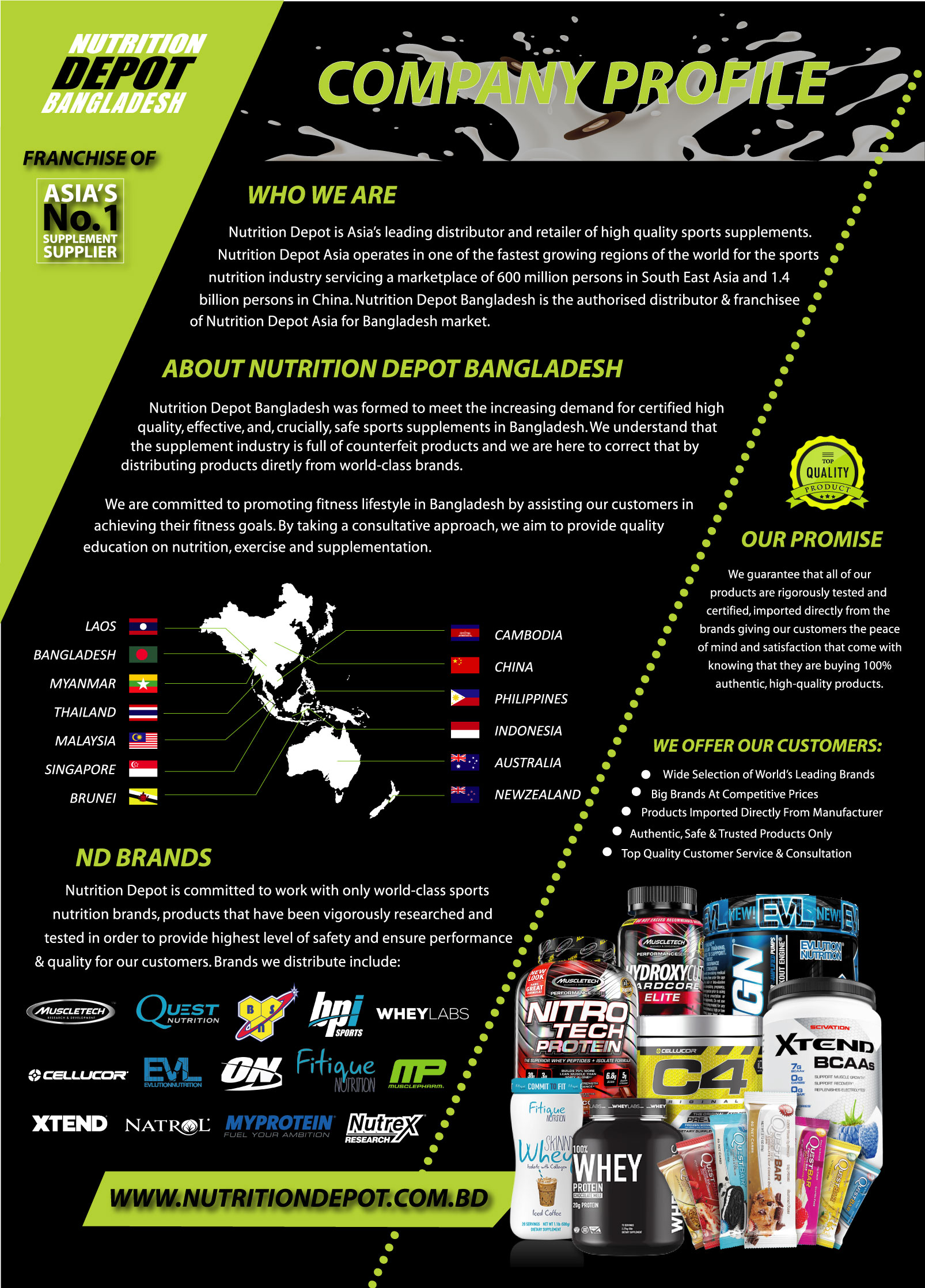 Nutrition Depot Bangladesh Profile