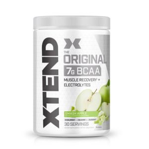 XTEND BCAA, GREEN APPLE EXPLOSION, 30 SERVING