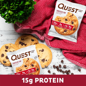 QUEST COOKIES, CHOCOLATE CHIP