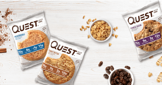 QUEST COOKIES, CHOCOLATE CHIP 3