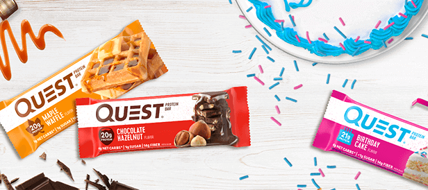 QUEST BAR, CHOCOLATE CHIP COOKIE DOUGH 1