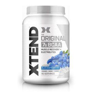 XTEND BCAA, BLUE RASPBERRY ICE, 90 SERVING