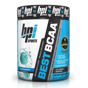 BEST BCAA, BLUE RASPBERRY, 30 SERVING