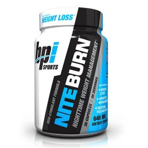 BPI NITEBURN (FAT BURNER)