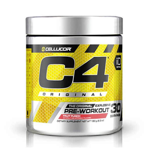 CELLUCOR, C4 FRUIT PUNCH, 30 SERVING