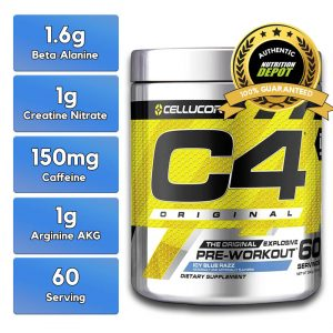 CELLUCOR, C4 ICY BLUE RAZZ, 60 SERVING nutritional information