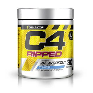 CELLUCOR, C4 RIPPED ICY BLUE RAZZ, 30 SERVING