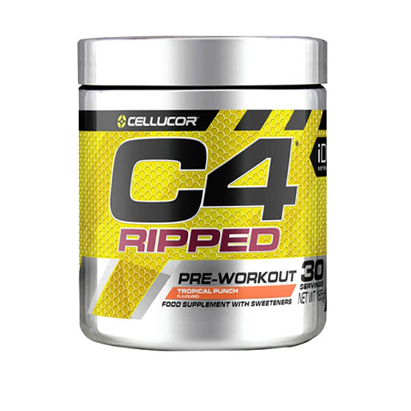 CELLUCOR C4 RIPPED TROPICAL PUNCH 30 SERVING