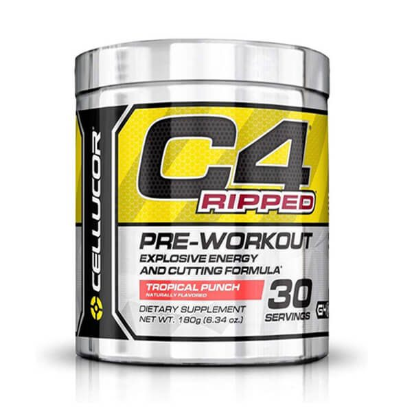 CELLUCOR, C4 RIPPED TROPICAL PUNCH, 30 SERVING