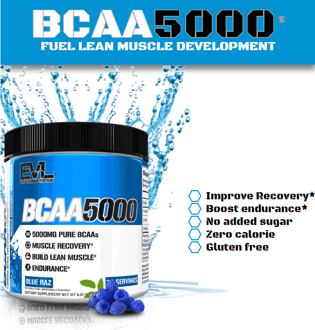 EVL BCAA 5000, CHERRY LIMEADE, 30 SERVINGS 1