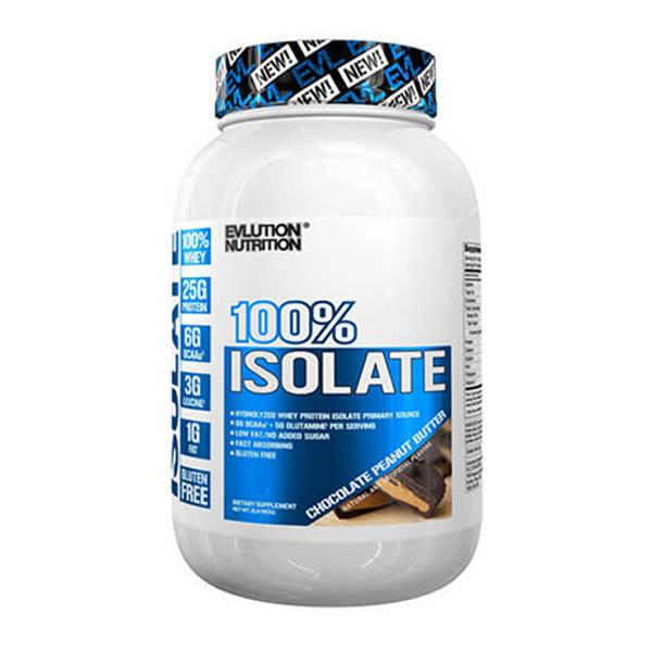 EVL 100% ISOLATE, CHOCOLATE PEANUT BUTTER, 1.6 LBS