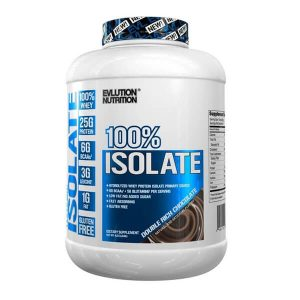 EVL 100% ISOLATE, DOUBLE RICH CHOCOLATE, 4 LBS