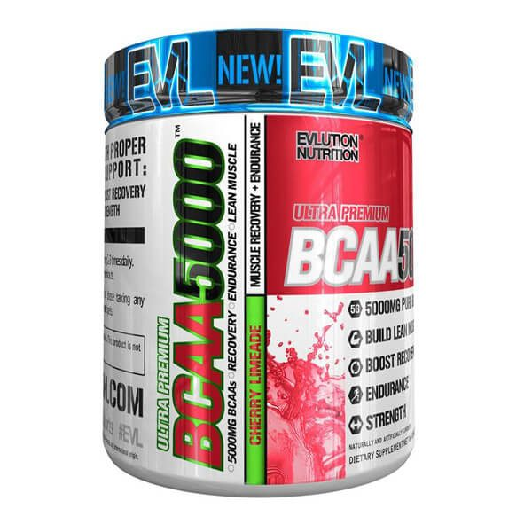 EVL BCAA 5000, CHERRY LIMEADE, 30 SERVINGS