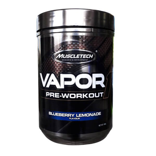 MUSCLETECH VAPOR ONE, BLUEBERRY LEMONADE, 25 SERVINGS, LIMITED EDITION