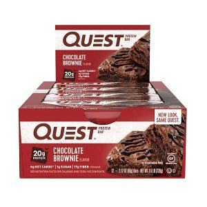 QUEST BAR, CHOCOLATE BROWNIE