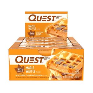 QUEST BAR, CHOCOLATE MAPLE WAFFLES