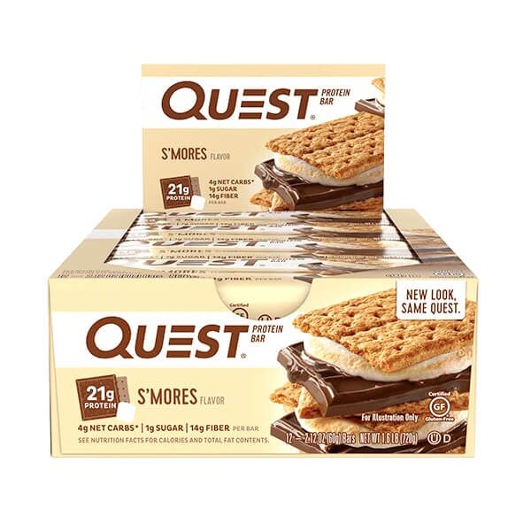 QUEST BAR, CHOCOLATE SMORE