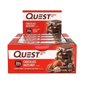 QUEST BAR, HAZELNUT CHOCOLATE