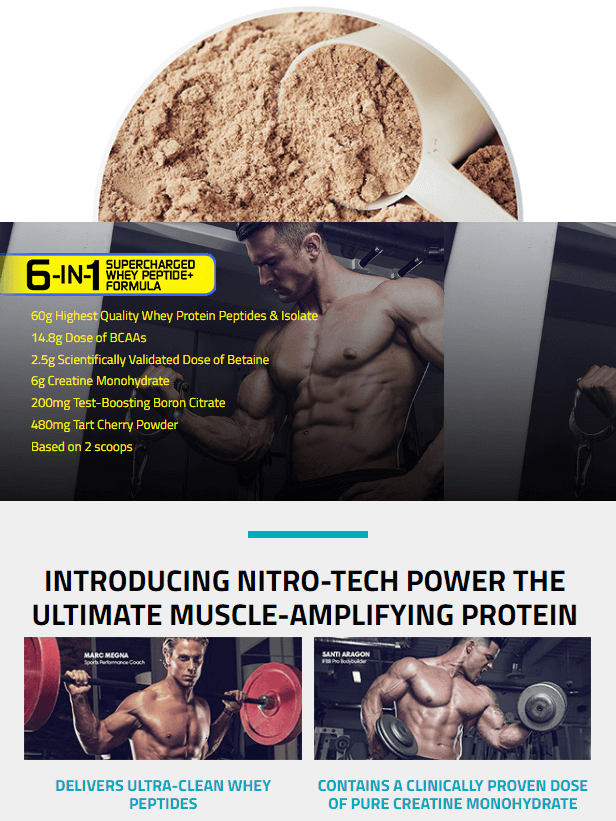 MUSCLETECH NITROTECH POWER, TRIPLE CHOCOLATE SUPREME PRODUCT DETAILS