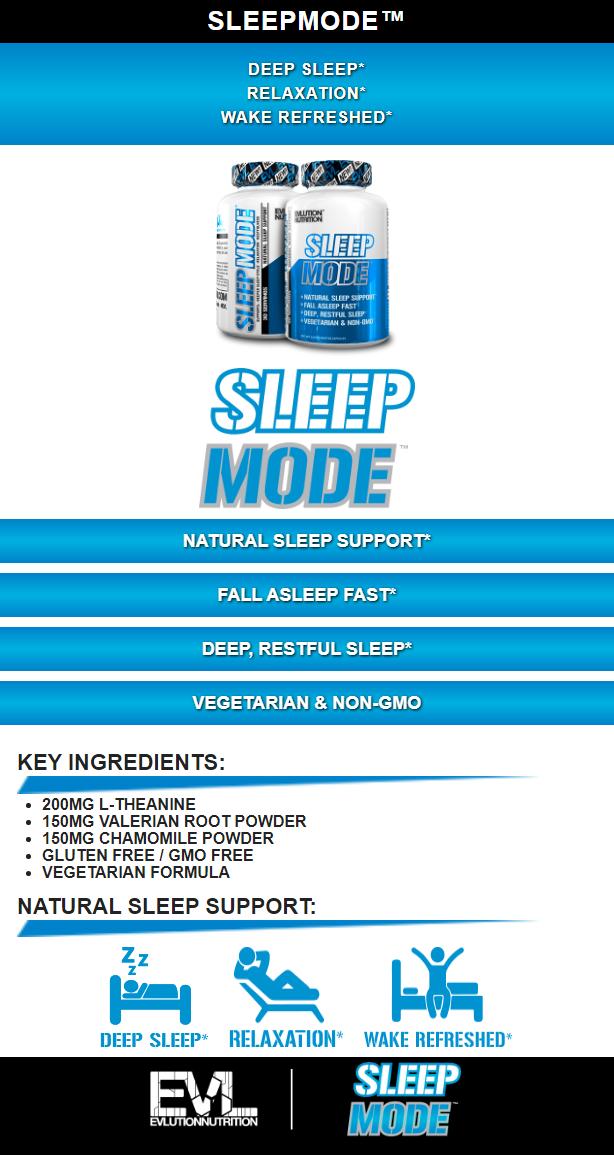 EVL SLEEPMODE, 60 CAPSULES PRODUCT DETAILS