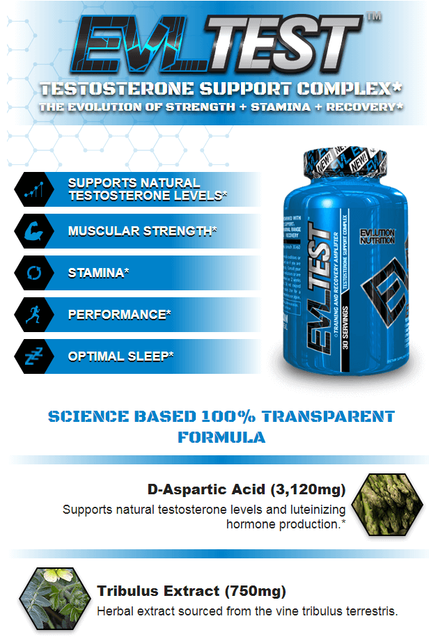 EVL TEST, 56 SERVINGS