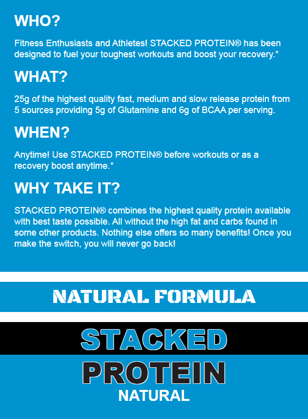 EVL STACKED PROTEIN, COOKIES AND CREAM, 2 LBS PRODUCT DETAILS