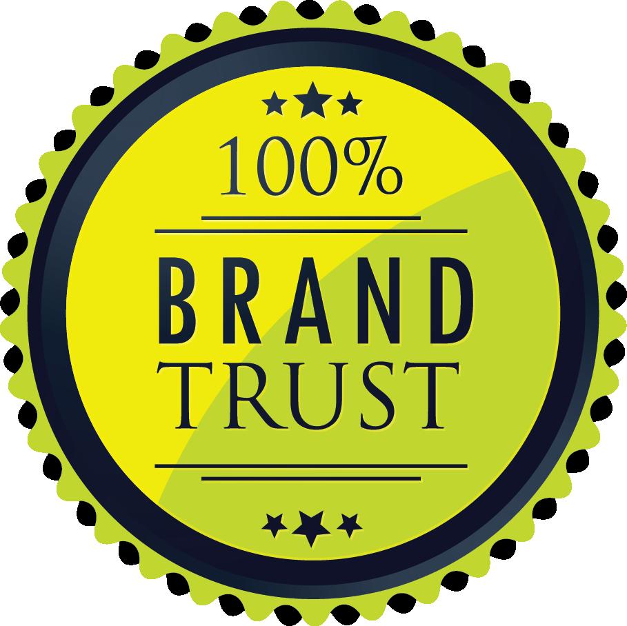 100% Brand Trust